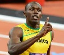 Usain Bolt at the Olympic Games 2012