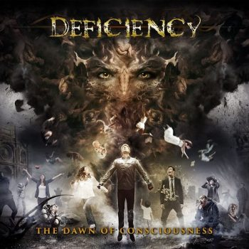DEFICIENCY Dawn Consciousness Cover