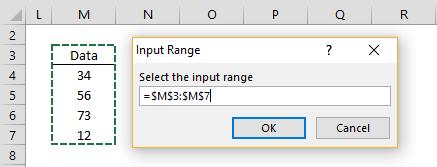Insert range dialog Mac