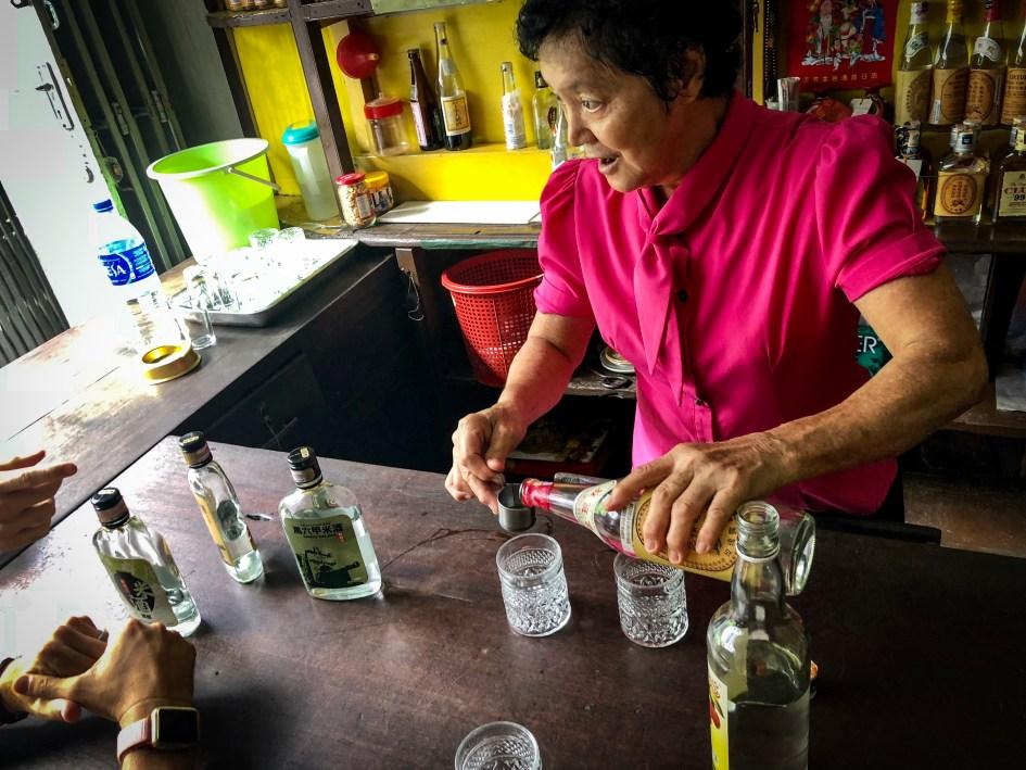 Sin Hiap Hin bar Malacca itinerary