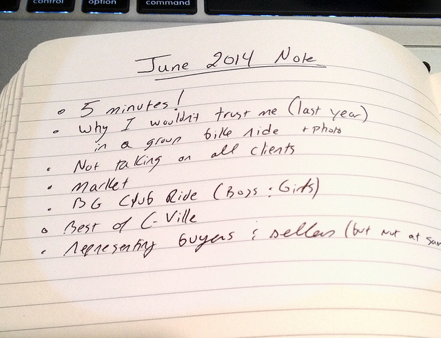 Jim Duncan's June 2014 Monthly Note