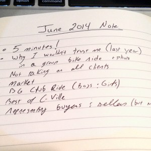 Jim Duncan's June 2014 Monthly Note
