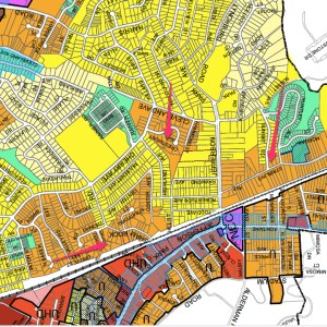 City of Charlottesville Zoning Map Re-adopted 2009_9_17_2013.