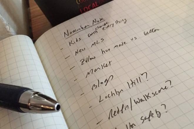 Jim Duncan's Monthly Note - November 2014