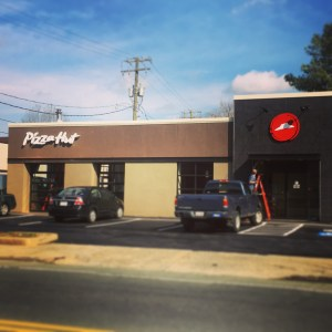 Pizza Hut on West Main Street in Charlottesville