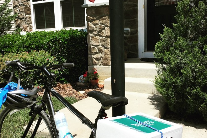 Biking to Home Inspections