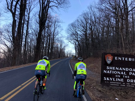 Riding the Skyline Drive
