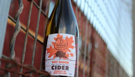 8 Wired Brewing Co's Dry Oaked Sparkling Cider