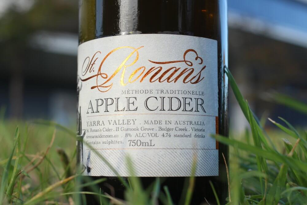 Best Ciders of 2015 St Ronans Methode Traditionalle