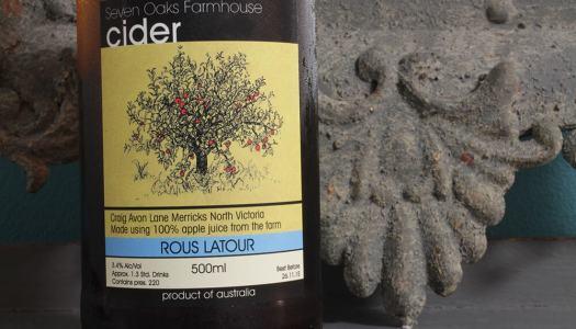Seven Oaks Farmhouse Rous Latour Cider