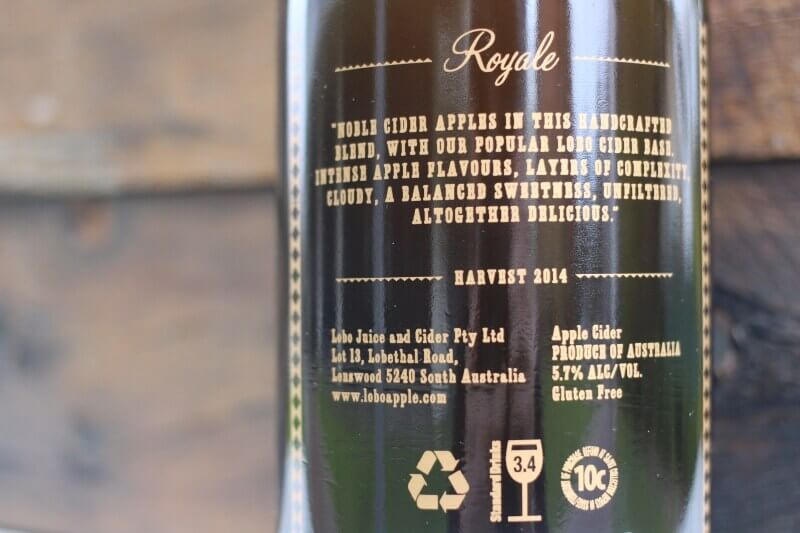 Lobo Royale Bottle