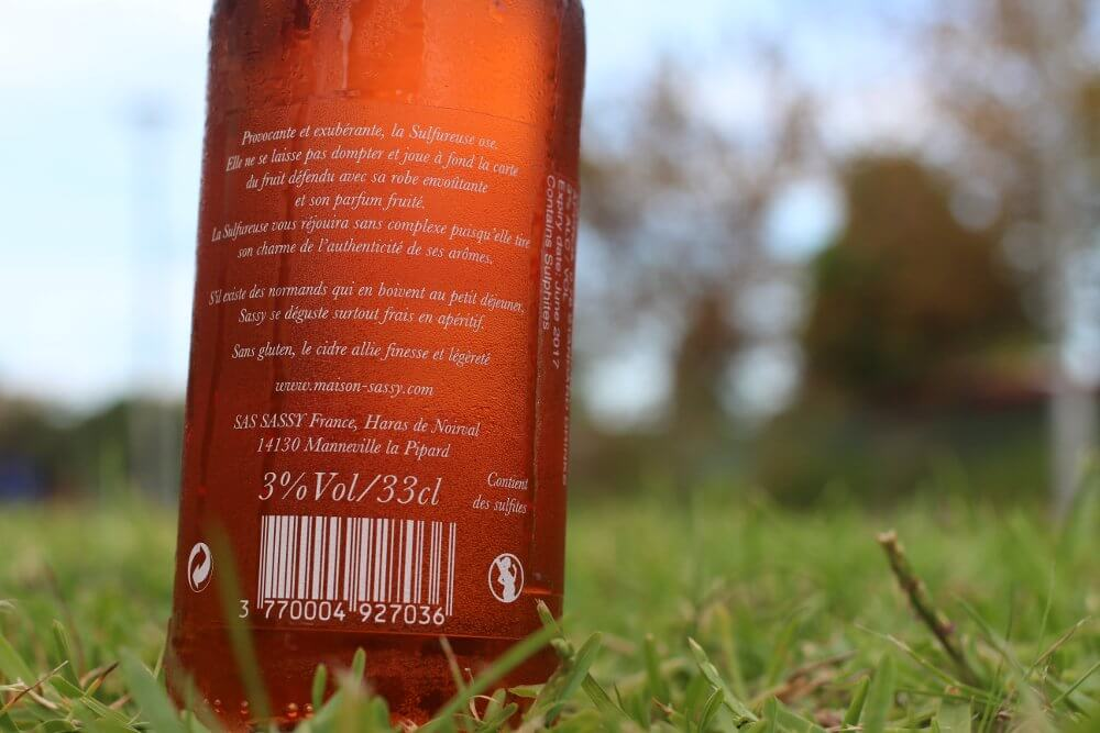 Sassy Le Cidre Rose cider