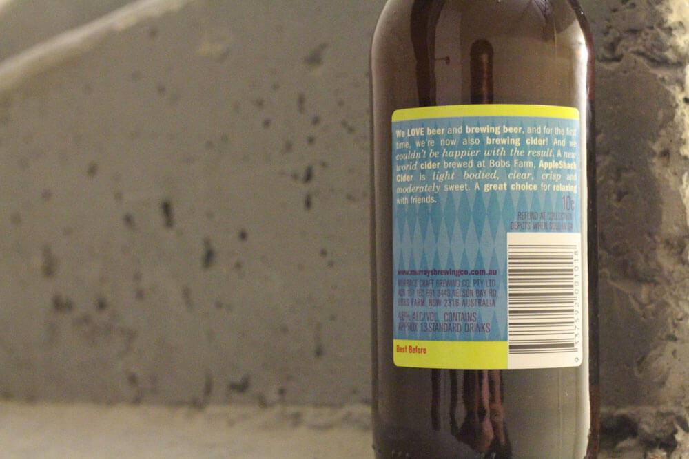 Apple Shack Cider review