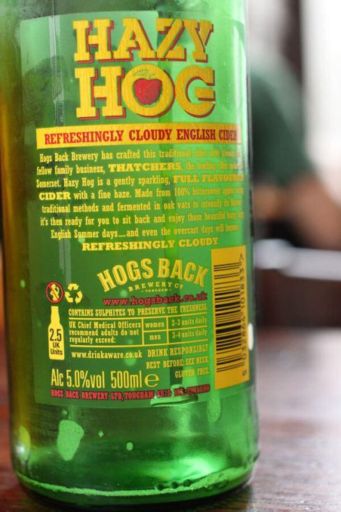 Hazy Hog Cider review
