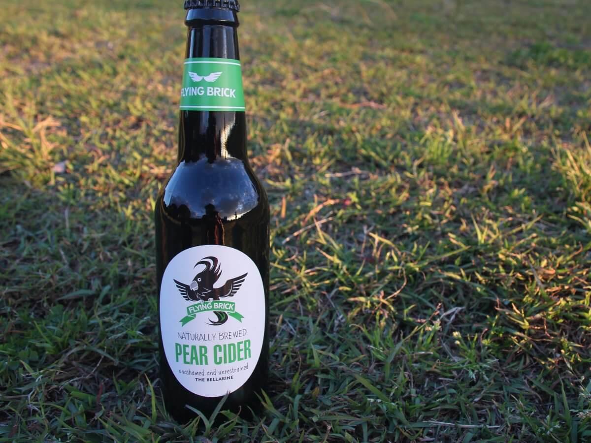 Flying Brick Pear Cider