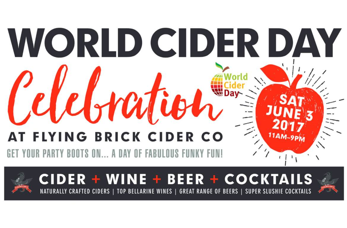 World Cider Day at Flying Brick