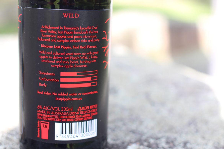 Wild Tasmanian Apple Cider