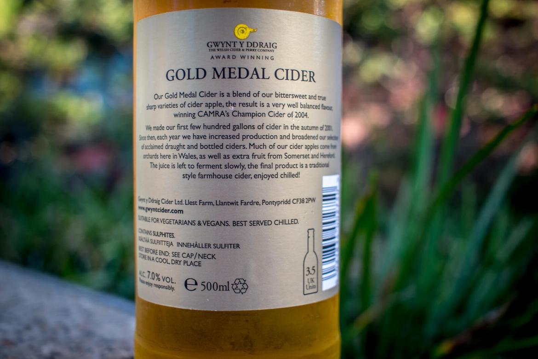 Gwynt Y Ddraig Gold Medal Cider Review