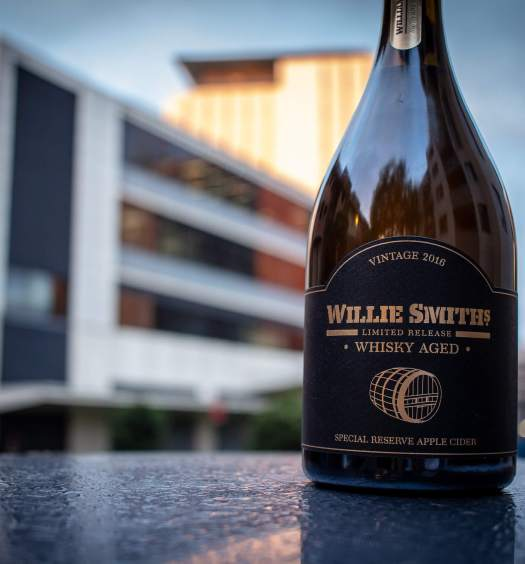 Willie Smiths Whisky Aged cider