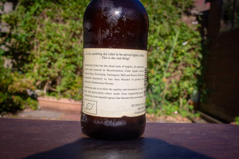 Duckerton's Organic Dry Cider