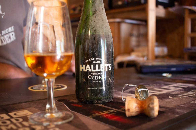 Hallets Cider 2009