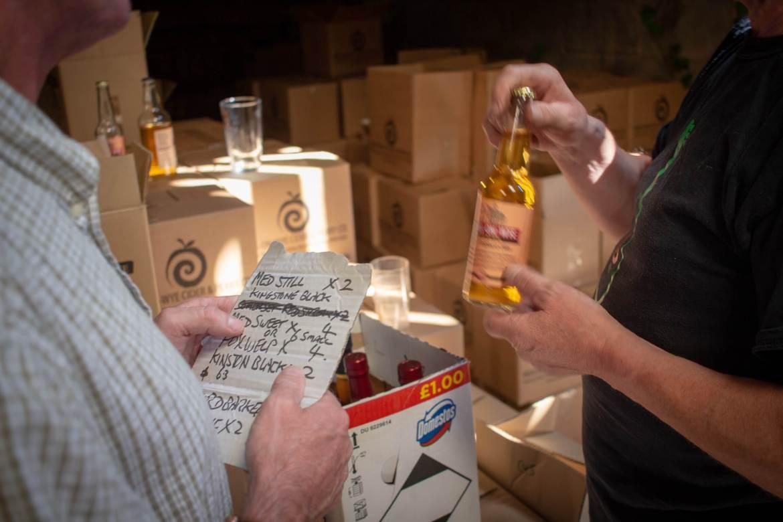 Ross-on-Wye Cider range
