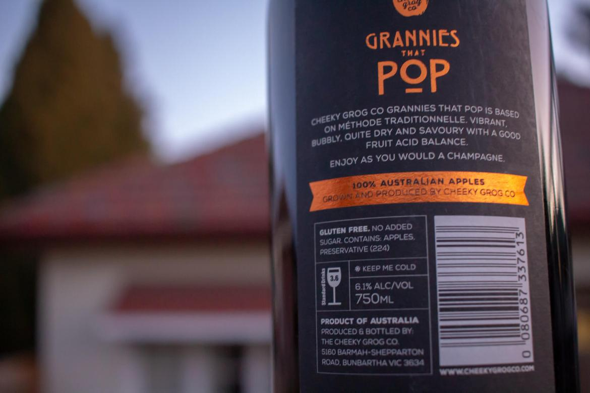 Grannies That Pop Cider Review