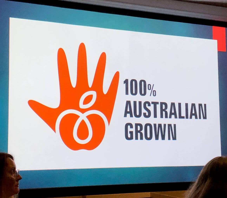 100% Austrlain Grown trustmark