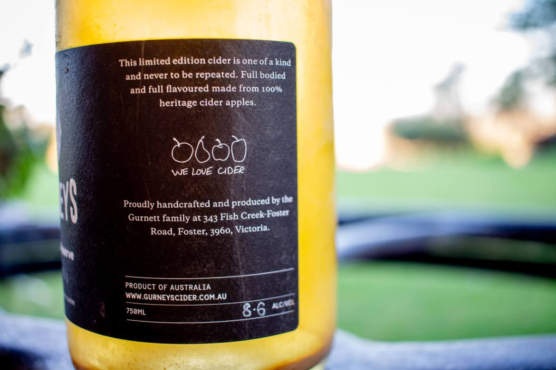 Gurneys Orchard Reserve Cider Review