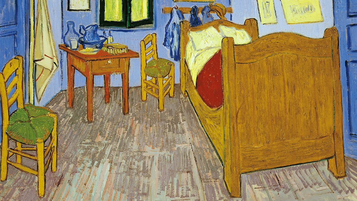 Is The Bed From Vincent Van Goghs The Bedroom Stowed