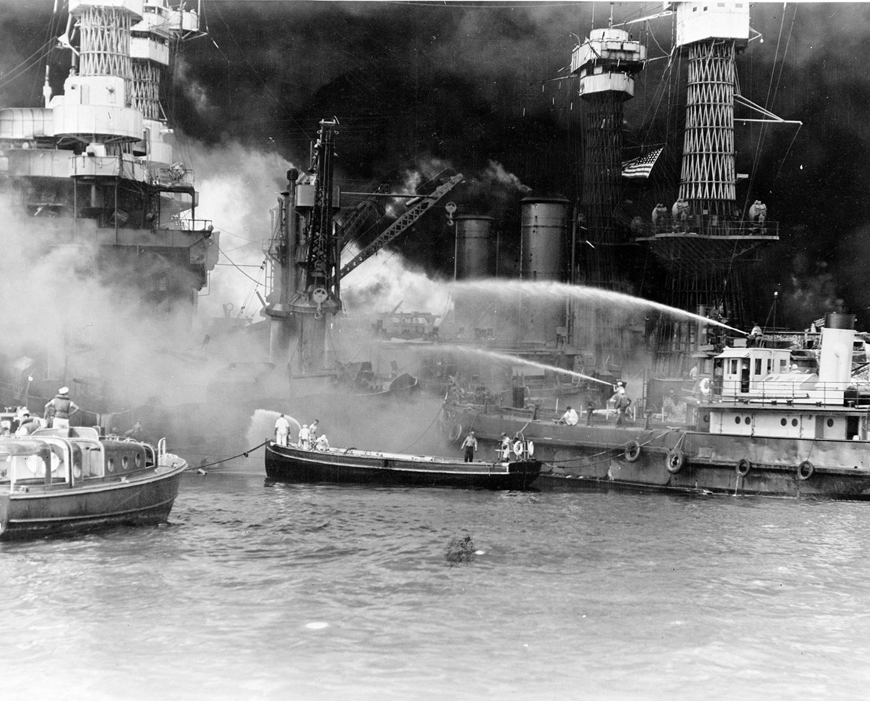 World War Ii Japanese On United States Naval Base