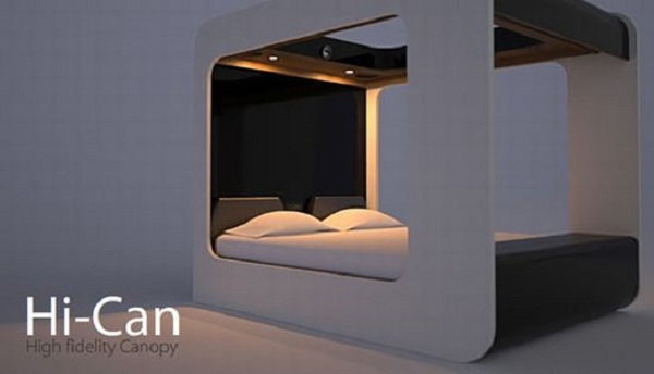 Hi-Tech Beds Modern Design By Hi-Can 2011 From Italy