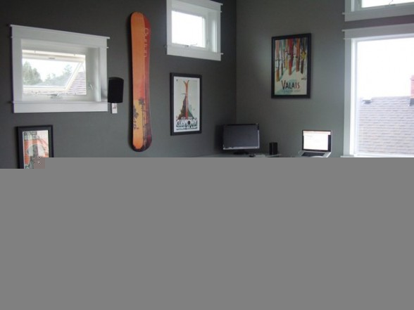 small workspace design