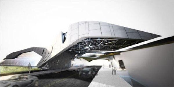 concept campus building