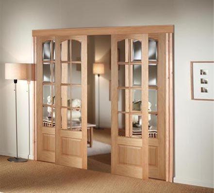 interior sliding French doors