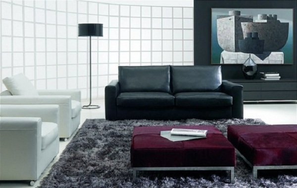 Black-And-White-Contemporary-Sofa-Design-1