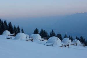 Modern Resort Like Igloo – WhitePod Alpine Ski Resort