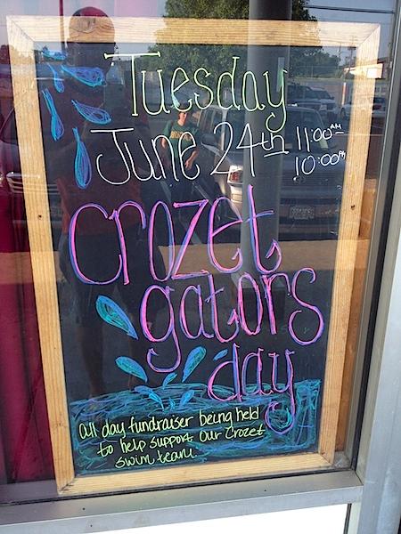 Sal's Pizza and Crozet Gators