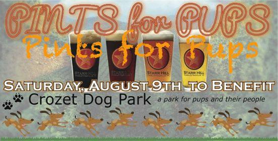 Pints for Pups - Crozet Dog Park Fundraiser