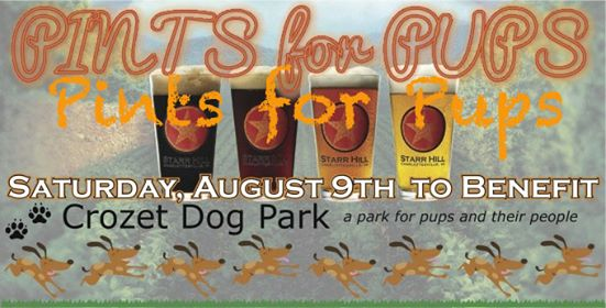 Pints for Pups - Crozet Dog Park Fundraiser