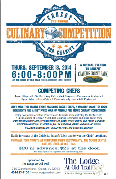 Crozet Culinary Competition - 2014
