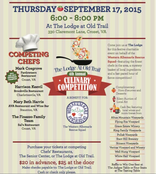 Crozet 4th Annual Culinary Competition