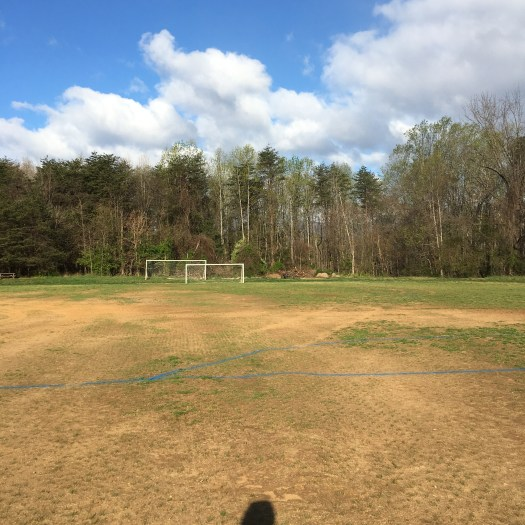 Henley Middle School soccer field