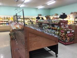 New produce shelves in Crozet's Great Valu
