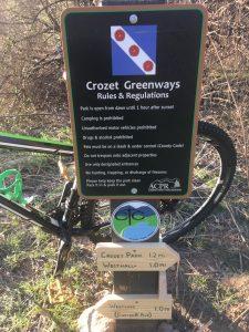 Crozet Trails signage