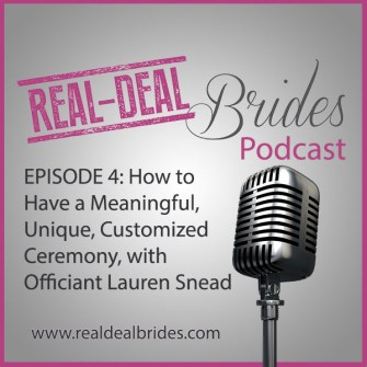 RDB004: How to Have a Meaningful and Memorable Ceremony