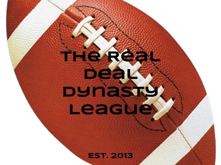 The Real Deal Dynasty Football Logo