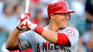 Mike Trout(MIA) can't help but smile after a 62pt week in the Real Deal Dynasty League.