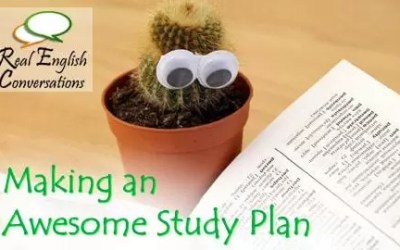 How to Make an English Study Plan for Learning Outside of the Classroom