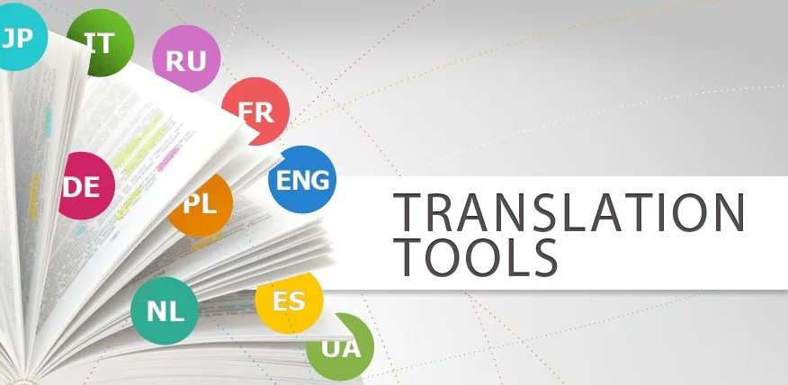 learning english translator tools